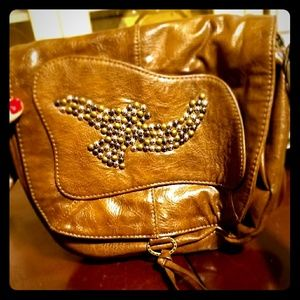 Free Bird By The Saks Leather Purse